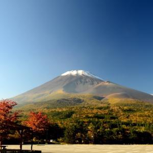 大雪山で紅葉が見頃に、取り消された富士山の初冠雪