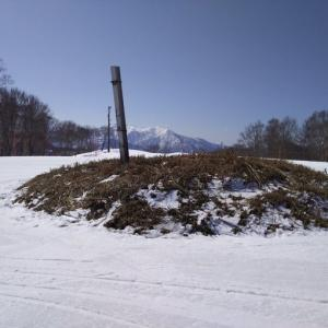 【滑走日誌16】融雪が進んでいます。しかし、まだまだ雪はたっぷりあります、ガーラ湯沢