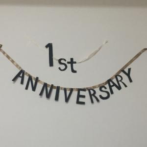 ブログ開設1周年。いつも訪問いただき、ありがとうございます。
