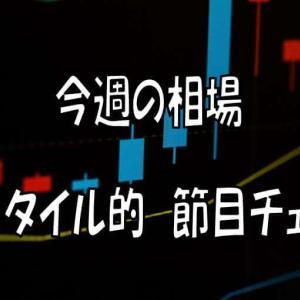 【節目攻防】今週の相場セットアップ2020/07/06~