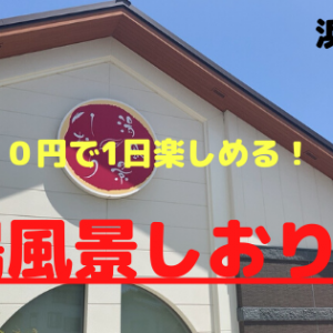 【湯風景しおり】浜松市 一味違った暴風オートロウリュウ