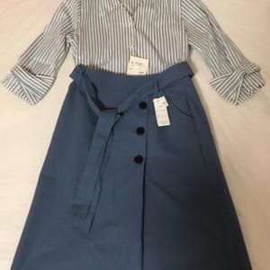 購入したプチプラ服。上下で2900円