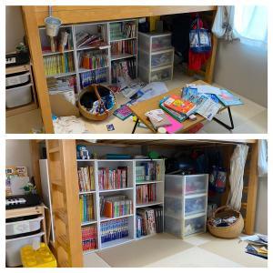 【訪問整理収納サポート】3時間で本棚と子供部屋と洗面所を整理収納!