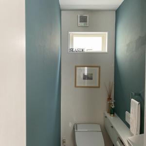 模様替えは楽しいね!②ペンキ塗りでトイレをイメチェン!
