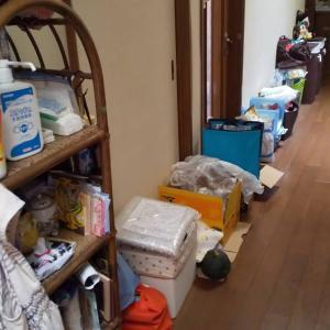 【オンラインお片づけ】廊下にあふれ出した物を整理収納!