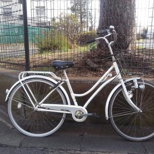 中野区江原町にて自転車無料回収させて頂きました。
