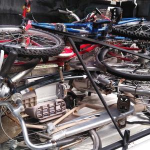 新宿区歌舞伎町にて自転車無料回収させて頂きました。