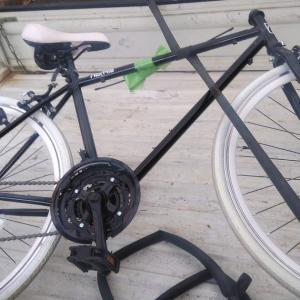 新宿区新宿にて自転車無料回収させて頂きました。