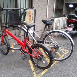新宿区大久保のマンションにて自転車無料回収