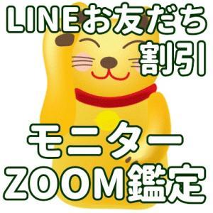 8月より新体制!ZOOMモニター鑑定