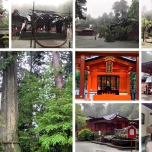 箱根神社でスマホ壊れる