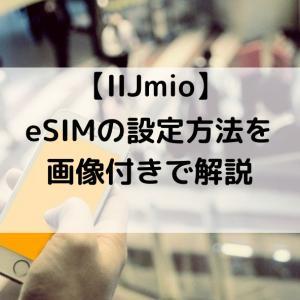 Android端末でIIJmioのeSIMを有効にする手順を解説