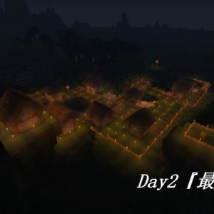 マイクラ日記 Day2『最初の村』