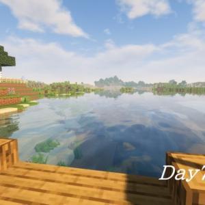 マイクラ日記 Day7『釣り』