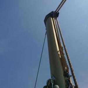 <06/05> 竿仕上げと修理は終了 ガイド待ち