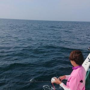 〈 08/09 〉中深場アカムツスロージギング&餌釣りへ