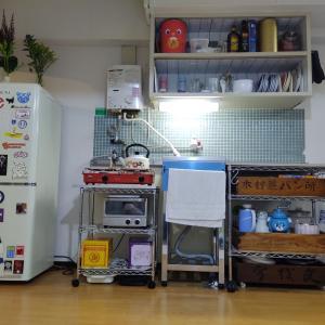キッチンのセルフリノベ中です