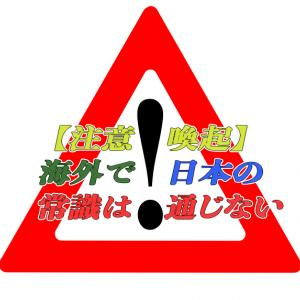 【注意喚起】海外へ行く際に気をつけておくべき事