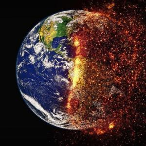 パリ協定後の二酸化炭素排出量の変化と二酸化炭素濃度による地球温暖化への影響