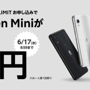 Rakuten Miniを1円で購入しました【画像で手順を説明】