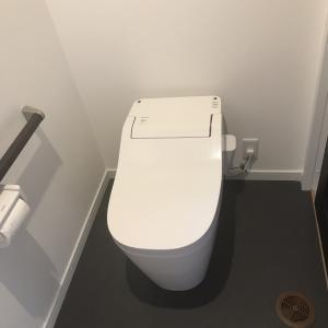 使わないトイレの掃除完了!