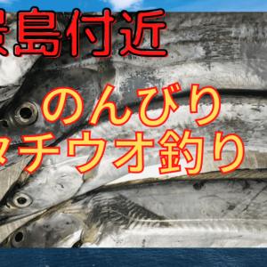 【2020年】八景島付近でタチウオ釣り!型は小さいが当たり多め