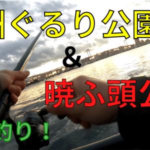 【2021年】豊洲ぐるり公園&暁ふ頭公園を釣り調査!【釣果有】