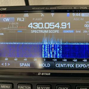関東UHFコンテストに参加しました