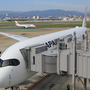羽田~福岡~新千歳~羽田 JAL-ANA乗り継ぎ旅(4) 福岡空港展望デッキ(2021/6)