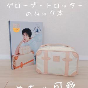 【雑誌付録】グローブ・トロッターのスーツケース型ポーチ
