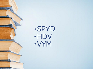 SPYD、HDV、VYMの6月分配金決定。各ETFの基本データ紹介