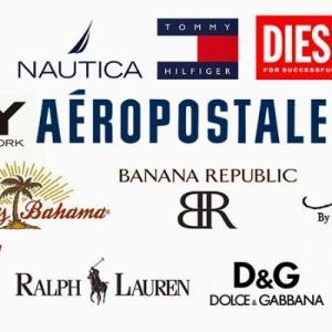 アメリカのファッションブランドTOP15(米国調査会社調べ)
