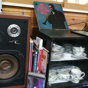 貧乏おばばはレコードを聴く