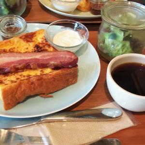 朝食を外食で・フレンチトースト