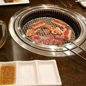 久々の焼き肉。