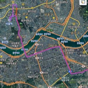韓国の便利なバス情報~401番バス編~