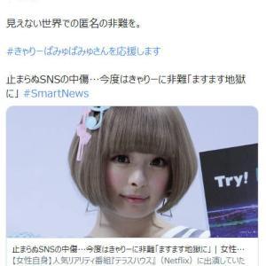 『 蓮舫』氏、歌手『きゃりーぱみゅぱみゅ』を操り人形にしてしまう。