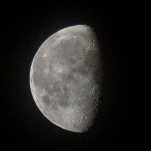 天体観測 更待月