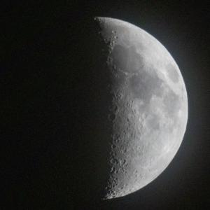 天体観測 暦の上では上弦
