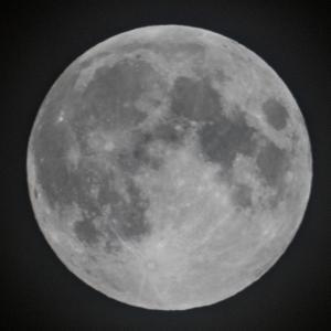 天体観測 小望月