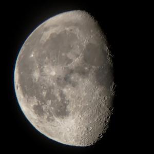 天体観測 寝待月