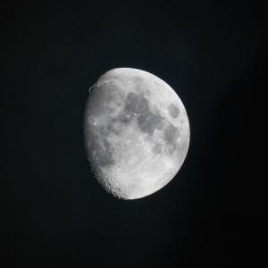 天体観測 十日月