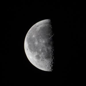 天体観測 宵月