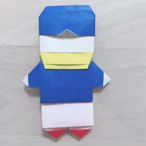 横浜F・マリノスの公式マスコット「マリノスケ」の折り紙 _origami
