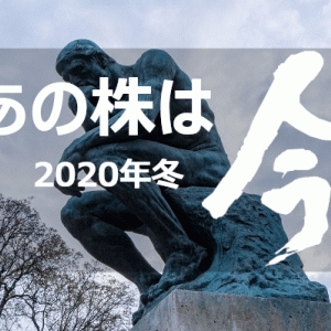 【予想的中】2020年10倍株(テンバガー)候補の今を見てみる ~日本株~