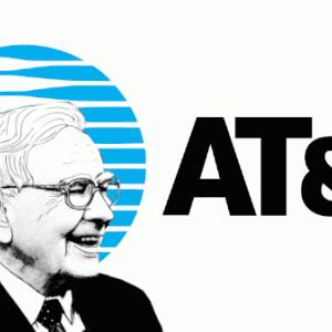 バフェットがAT&Tの株を大量購入した噂について考える