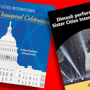 ディマシュ Sister Cities International Inaugural Galaの動画【1月20日にもパフォーマンス】