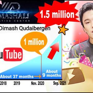 【祝】YouTube150万フォロワー【Dimash】