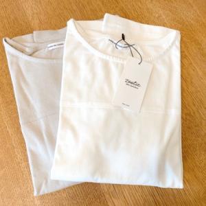 夏の制服的Tシャツはコレにしました