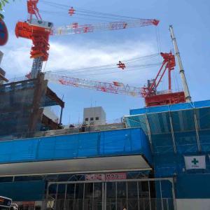 天神ビックバン「建設進行中」福岡市【写真・風景】